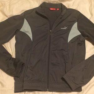 {puma} warmup light jacket small